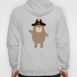 Grizzly Pirate Bear T-Shirt for all Ages D7cvs Hoody