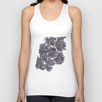 zentangle Tank Tops featuring Zentangle; by Shivani C