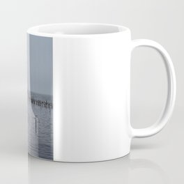 Lonely at the Jetty  Coffee Mug