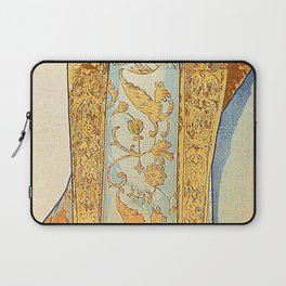 Art Nouveau poster by Alphonse Mucha Laptop Sleeve