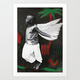 Florence in Flight Art Print