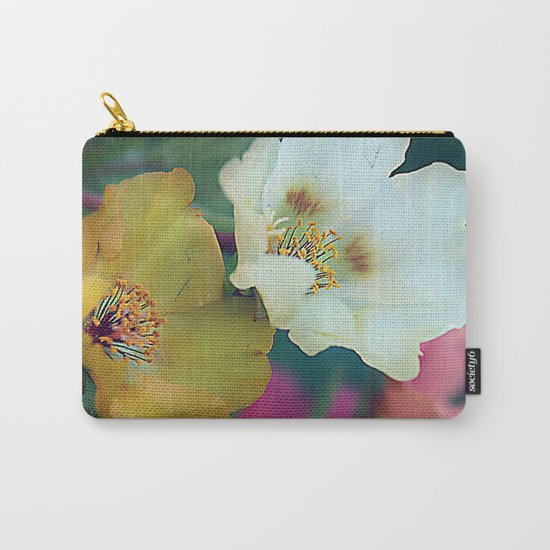 Flower duo Carry-All Pouch