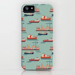 Great boat JM iPhone Case