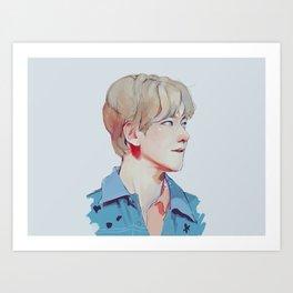 Byun BaekHyun Art Print