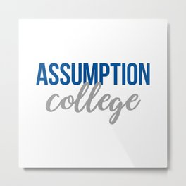 Assumption College Metal Print