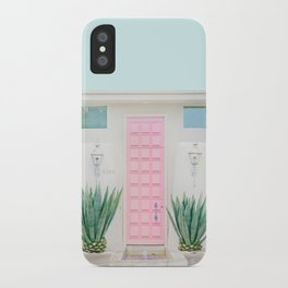 The Pink Door, Palm Springs, California iPhone Case