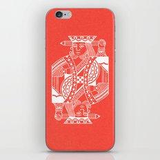 Creativity Is King iPhone Skin