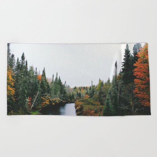 Forest creek II #society6#buyart Beach Towel