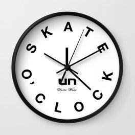 Skate O'Clock Wall Clock