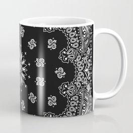 Bandana Black - Traditional Coffee Mug