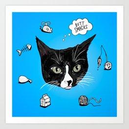 A Cat's Favorite Things Art Print