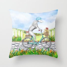 WEIM ON WHEELS Throw Pillow
