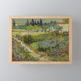 Garden at Arles Framed Mini Art Print