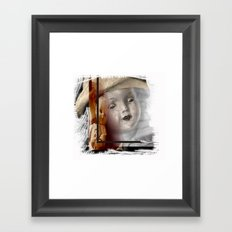 What Do You See ? Framed Art Print