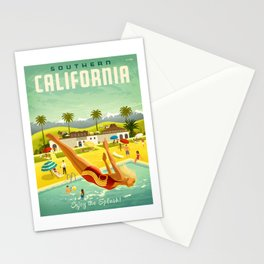 Southern California Palm Springs Stationery Cards