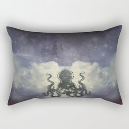 Flying Squid Rectangular Pillow
