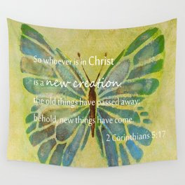 2 Corinthians 5:17 Wall Tapestry