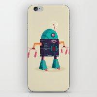 :::Mini Robot-Arpax::: iPhone & iPod Skin