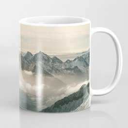 Mountain panorama Hintertux Coffee Mug