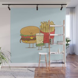 family meal Wall Mural