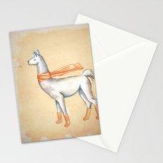 Cozy Llama Socks Stationery Cards
