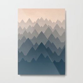 Mountain Vista : Afternoon Metal Print