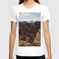 marble T-shirts featuring Marble Canyon by Kevin Russ
