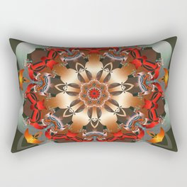 Enlighten Mandala Rectangular Pillow
