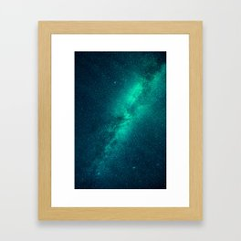 Galaxy Lights Framed Art Print