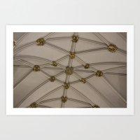 Yorkminster Ceiling Art Print