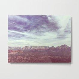 AZ Metal Print