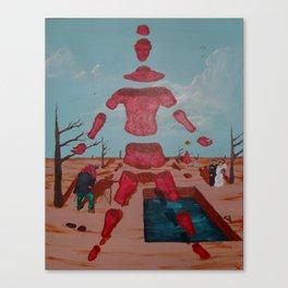Fotografía de mi Boda Canvas Print