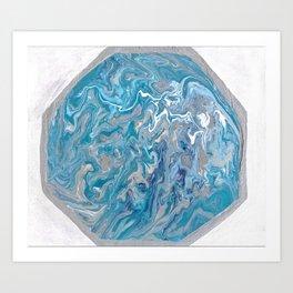 The Eye of a Hurricane Art Print