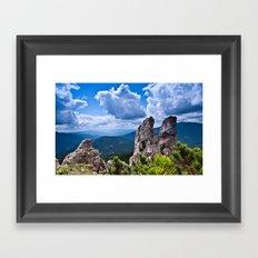 Nature love #landscape Framed Art Print