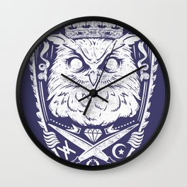 King of the night Wall Clock