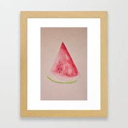 Slice of Summer Framed Art Print