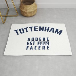 Tottenham - Spurs - Hotspurs - Premier League - Champions league - Soccer T-Shirt Rug