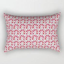 Fruit Salad - Red Berries Rectangular Pillow