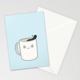whoa, coffee! Stationery Cards