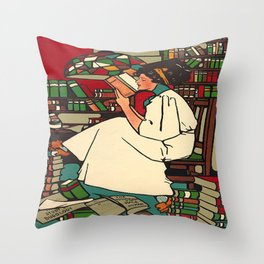 """""""Dig""""  by Sadie Wendell Mitchell Throw Pillow"""