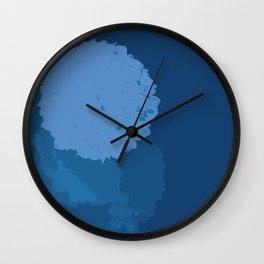 Blue Balls  Wall Clock