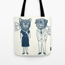 Types Of People Tote Bag