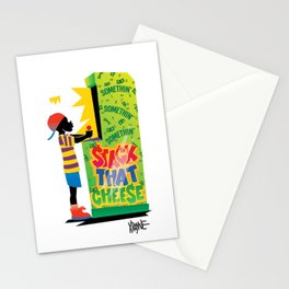 Stack That Cheese Stationery Cards