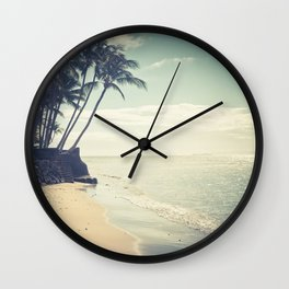 Kihei Maui Hawaii Wall Clock
