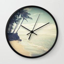 Kihei Maui Hawaii Wall Clock