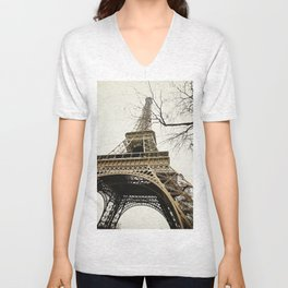 Le Tour Eiffel Unisex V-Neck