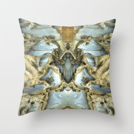 Natures Rock Monsters Throw Pillow