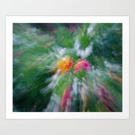 Merging Art Print