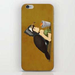 Little Black Cormorant iPhone Skin