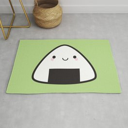 Kawaii Onigiri Rice Ball Rug